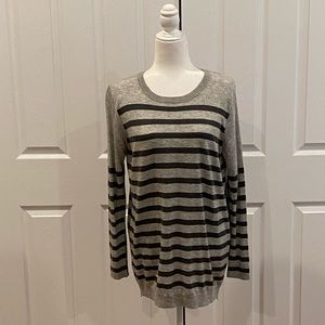 Ann Taylor long sweater with zippers on sides